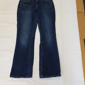 Levi's 529 Curvy boot cut blue jean pant sz 4 S/C